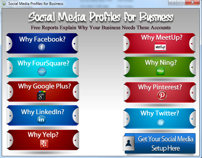 Social Media Profiles for Business